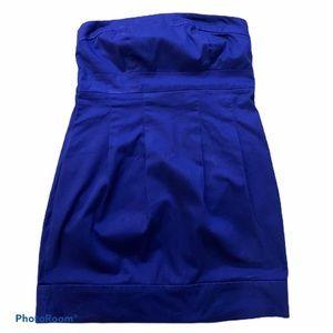 🌵 Royal blue tube dress